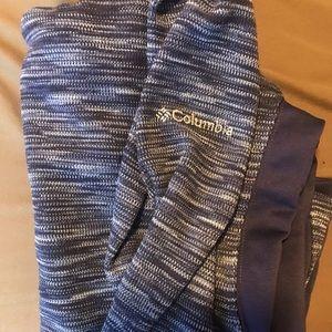 Fitted Columbia Quarter Zip Sweatshirt